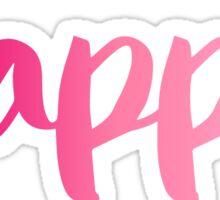 kappa pink Sticker
