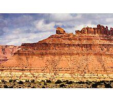 Colorado Butte Photographic Print