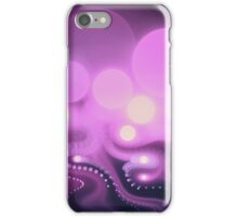 Purple Bokeh - Abstract Fractal Artwork iPhone Case/Skin
