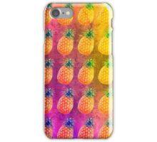 Retro Pineapple Pattern iPhone Case/Skin