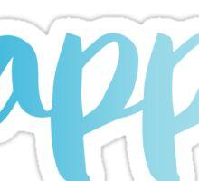 kappa teal Sticker