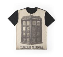 Doctor Who - Verified Whovian Graphic T-Shirt