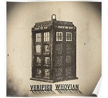 Doctor Who - Verified Whovian Poster