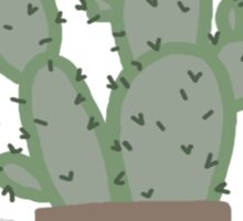 cacti plant friends Sticker