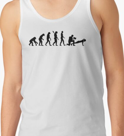 Evolution fitness trainer Tank Top