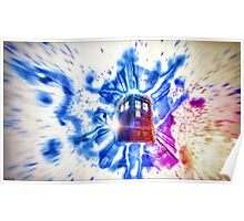 Tardis - Through the Rift Poster