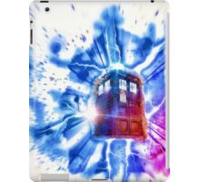 Tardis - Through the Rift iPad Case/Skin