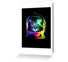 Astronaut Cat Greeting Card