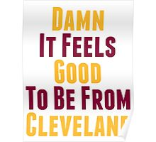 Damn It Feels Good To Be From Cleveland Poster