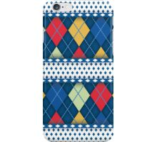 Blue Pattern  iPhone Case/Skin