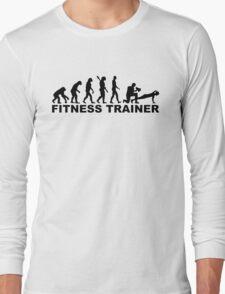 Evolution fitness trainer Long Sleeve T-Shirt