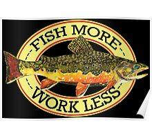 Humorous Fishing Poster