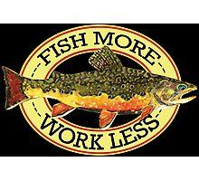 Humorous Fishing Photographic Print