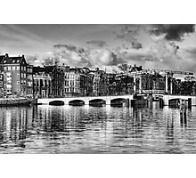 Magere Brug Photographic Print