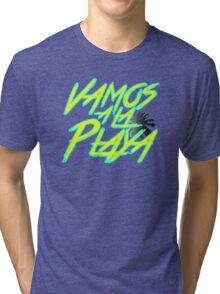 Vamos A La Playa Tri-blend T-Shirt