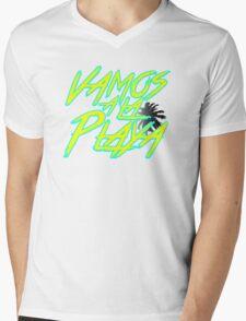 Vamos A La Playa Mens V-Neck T-Shirt