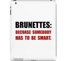 Brunettes Smart iPad Case/Skin