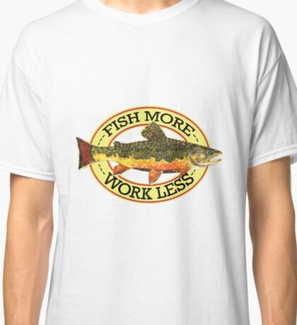 Humorous Fishing Classic T-Shirt