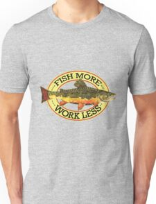 Humorous Fishing Unisex T-Shirt