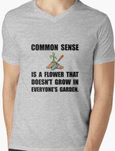 Common Sense Garden Mens V-Neck T-Shirt