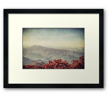 Autumn in North Carolina Framed Print