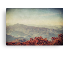 Autumn in North Carolina Canvas Print