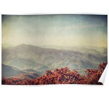 Autumn in North Carolina Poster