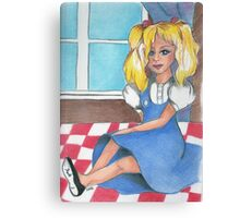 Frey's dolly Canvas Print