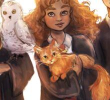 Golden Trio + Pets Sticker