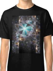 Shattered Flowers - Abstract Fractal Artwork Classic T-Shirt