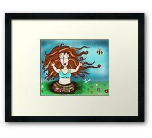 Peaceful Pagan Framed Print