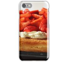 Strawberry Flan. iPhone Case/Skin
