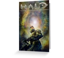 Halo Guardians Master Chief Greeting Card