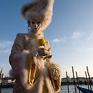 Carnival of Venice: Yellow rose charmer by zinchik