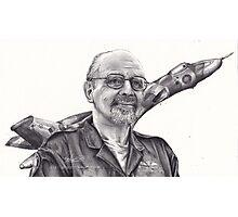 A Vulcan Pilot Photographic Print