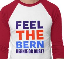 FEEL THE BERN Men's Baseball ¾ T-Shirt