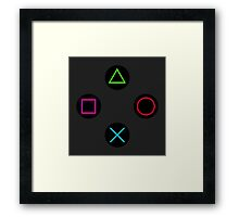 Playstation Framed Print