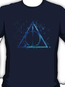 Deathly Hallows Blue  T-Shirt