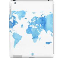 Sky World map iPad Case/Skin