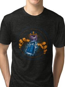 THE TITANS BLUE BOX T-SHIRT Tri-blend T-Shirt
