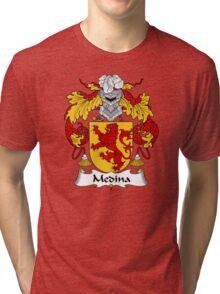 Medina Coat of Arms/Family Crest Tri-blend T-Shirt