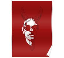 The Devil (red) Poster