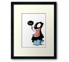 Venom in bucket Framed Print