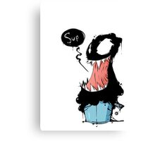 Venom in bucket Canvas Print