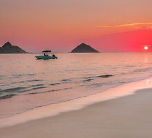 Lanikai Sunrise 1 by Leigh Anne Meeks