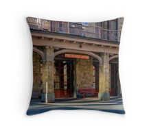 Fire Headquarters Heroes Headquarters Throw Pillow