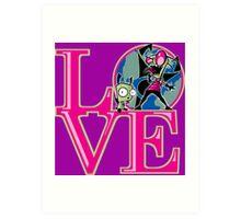 Irken LOVE Art Print