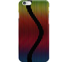 Geometric - colorful waves iPhone Case/Skin