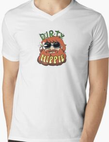 Dirty Hippie #2 Mens V-Neck T-Shirt