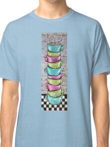 Sunday's Cup A Joe Pink Coffee Mugs Washington Post Comics Newspaper  Classic T-Shirt
